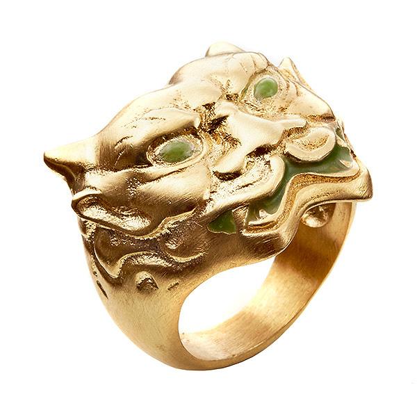 Gold Tiger Ring