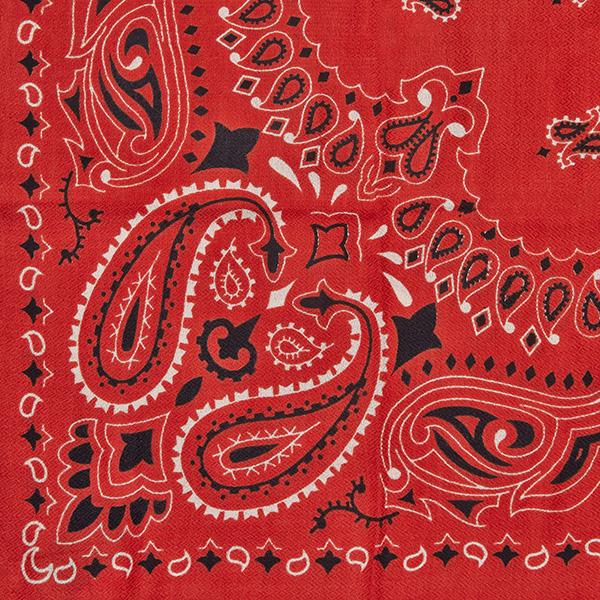 Bandanna Red Schal
